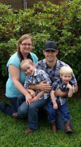 Sam, Josh and family