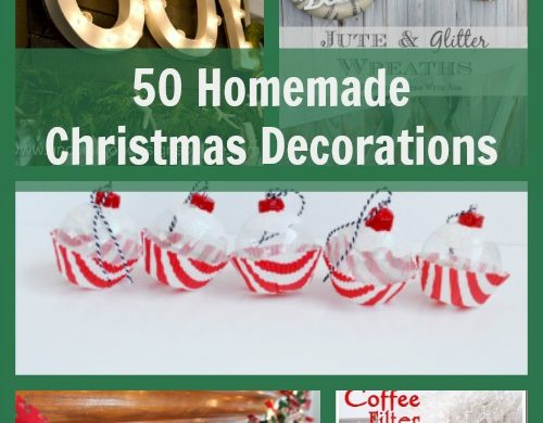50 Homemade Christmas Decorations