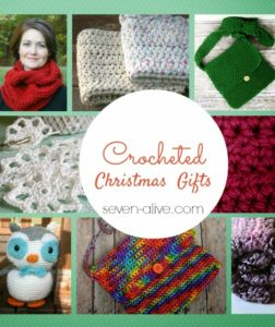 Crocheted Christmas Gifts.