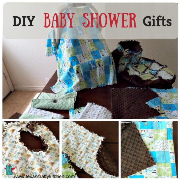 If you can sew a straight line, you can makes these easy DIY Baby Shower Gifts