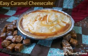 Easy-Caramel-Cheesecake