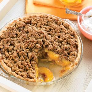 Peach-Streusel-Pie