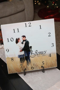 Personal Picture Clock by Rosy Red Buttons