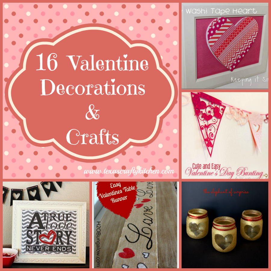 16 Valentine Decorations & Crafts
