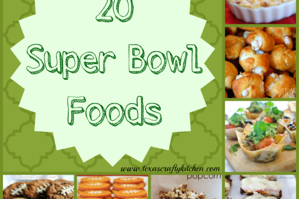 20 Super Bowl Foods