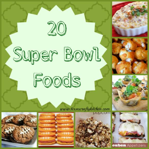 20 Super Bowl Foods