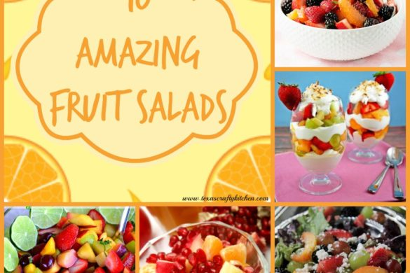 10 Amazing Fruit Salad Recipes. Fruit Salads are a favorite at our home. We love them any time of year, but especially during the Spring and Summer!