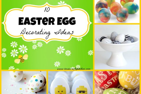 10 Easter Egg Decorating. Easter is right around the corner! Today we are sharing some Easter Egg Decorating Ideas might just help you with some new ideas for the Holiday!