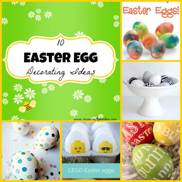 10 Easter Egg Decorating