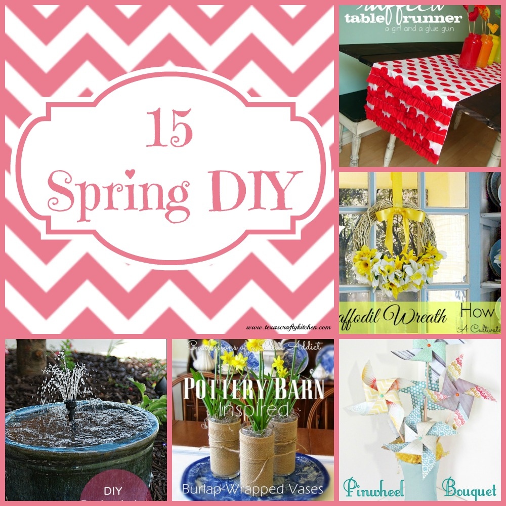 15 Spring DIY Projects