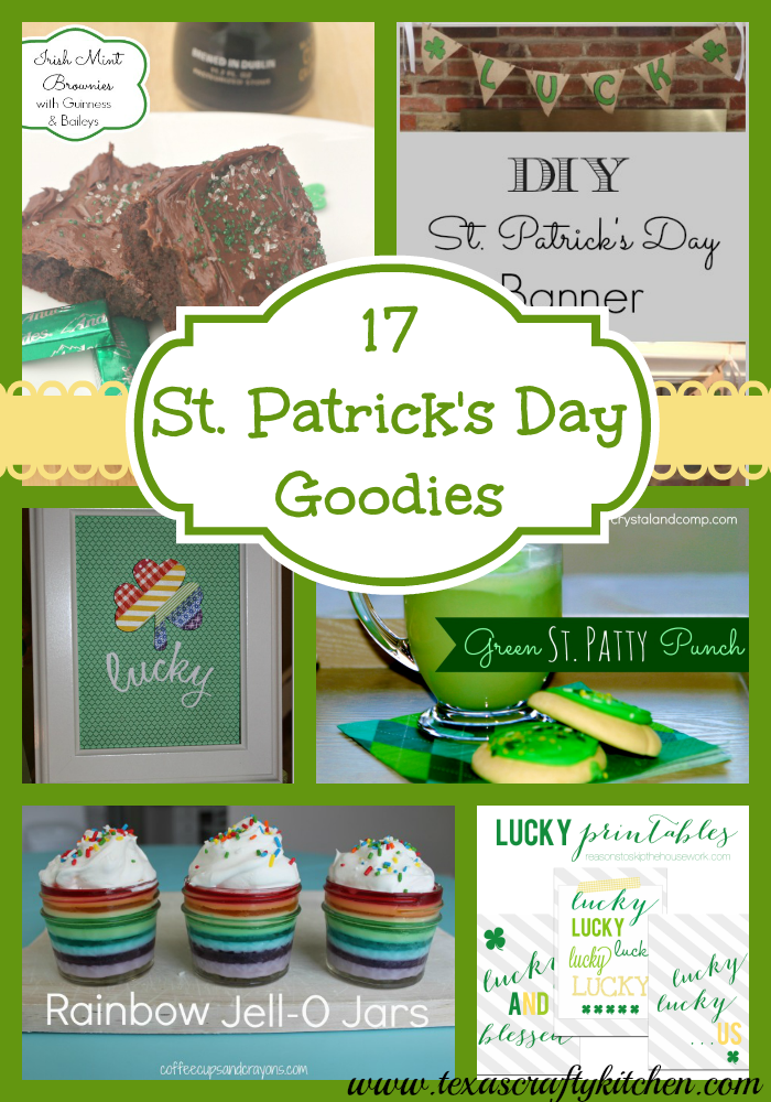17 St. Patrick's Day Goodies