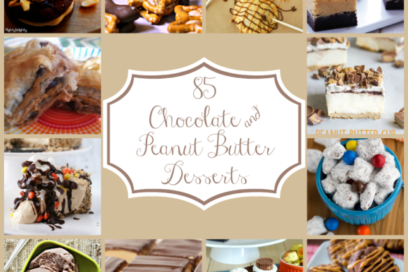 85 Chocolate and Peanut Butter Desserts