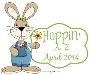 Hoppin' A-Z April
