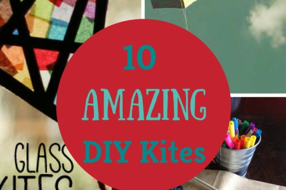 10 Amazing DIY Kites. Looking to have some fun this Spring with your kids? Here are some great tutorials on making your own kites.