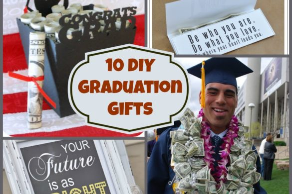 10 DIY Graduation Gifts