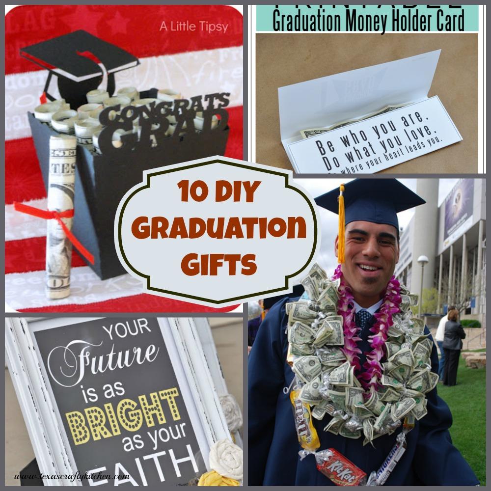 10 DIY Graduation Gifts