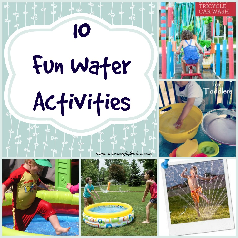 10 Fun Water Activities