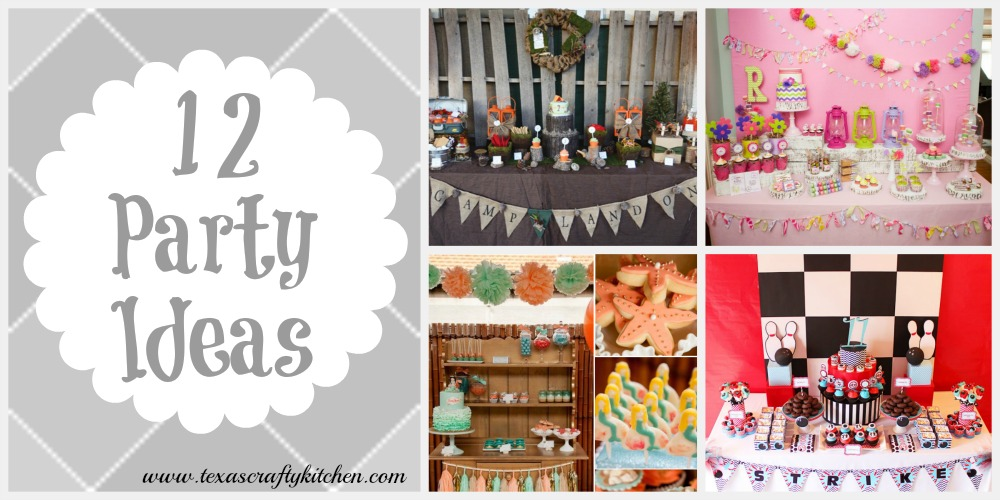 12 Wonderful Party Ideas