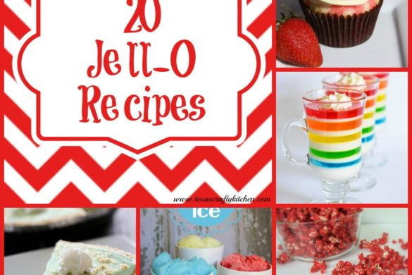20 Great Jell-O Recipes! Today is all about Jell-O Recipes! It's amazing all the different uses in recipes for Jell-O. This collection of recipes looks amazing...