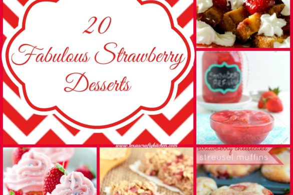 20 Fabulous Strawberry Desserts. Strawberry Desserts is a huge favorite!