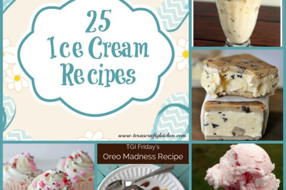 25 Ice Cream Recipes. Who doesn't love ice cream. We love making homemade ice cream and not just during the Summer either!