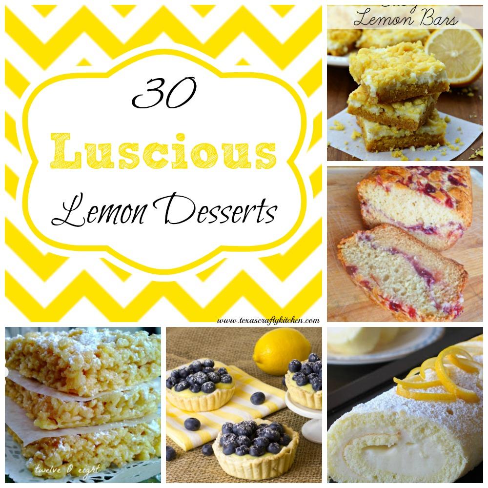 30 Luscious Lemon Desserts
