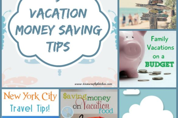 9 Vacation Money Saving Tips