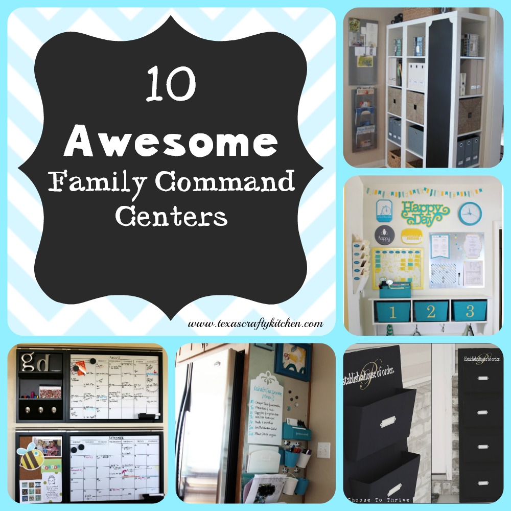 10 Awesome Family Command Centers