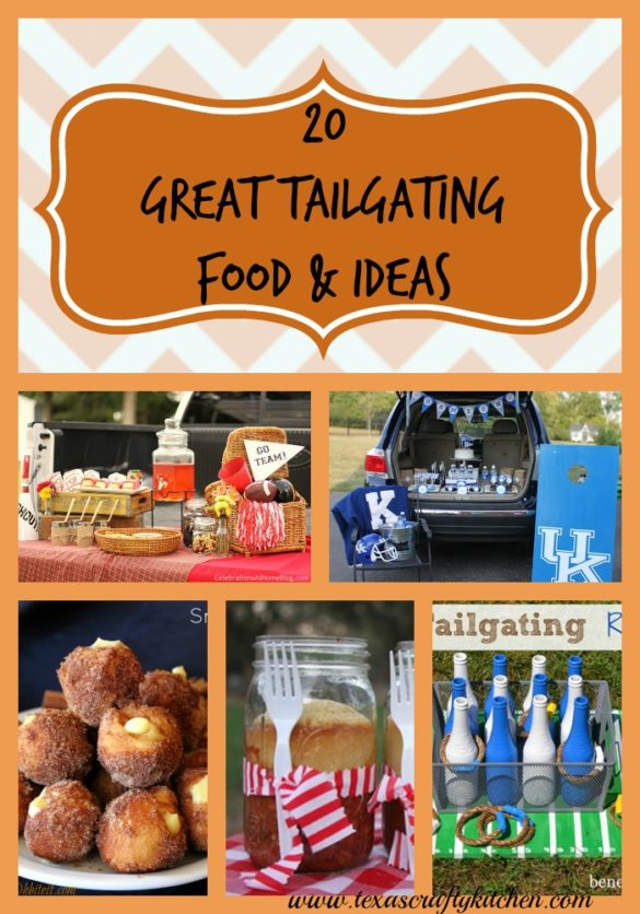 20 great tailgating foods and ideas