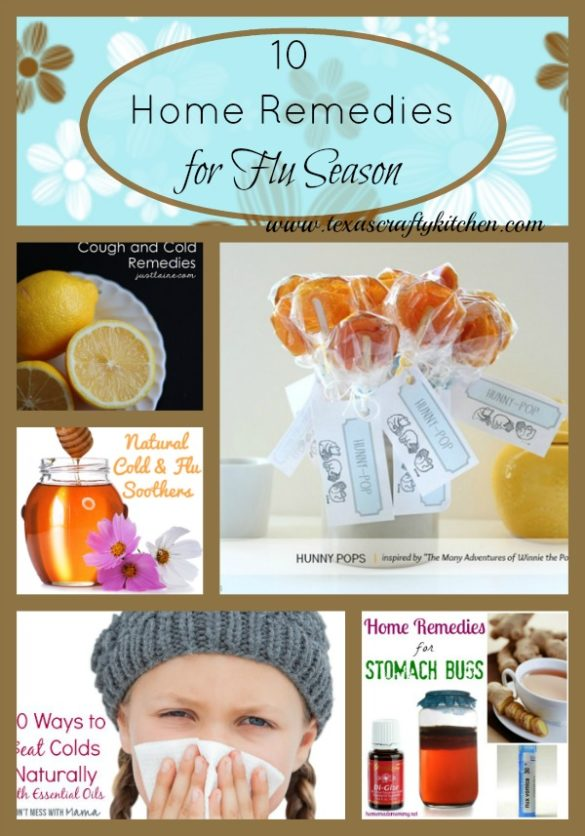 10 home remedies for cold and flu season