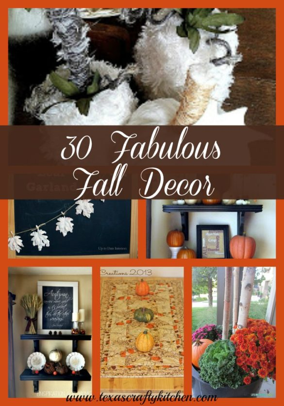 30 fabulous fall decor