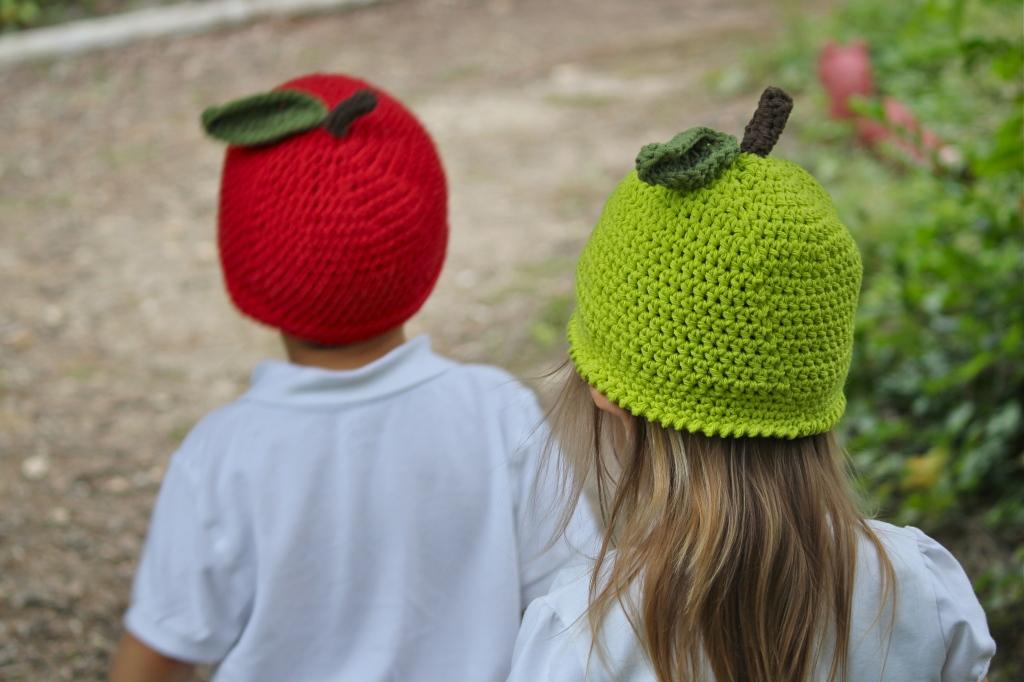 Kids Cotton Apple Hat