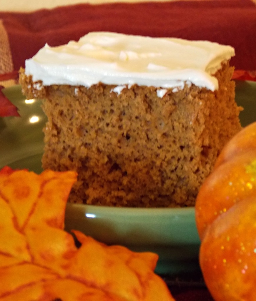 Pumpkin Spice Cake _ Texas Crafty Kitchen