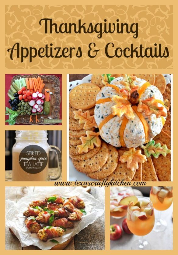 Thanksgiving Appetizers and Cocktails