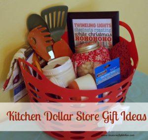 kitchen dollar store gift ideas