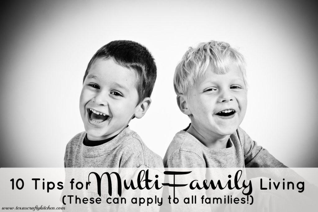 10 tips for multi family living for Multi family living