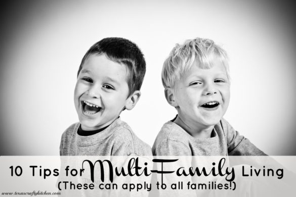 10 Tips for Multi-Family Living
