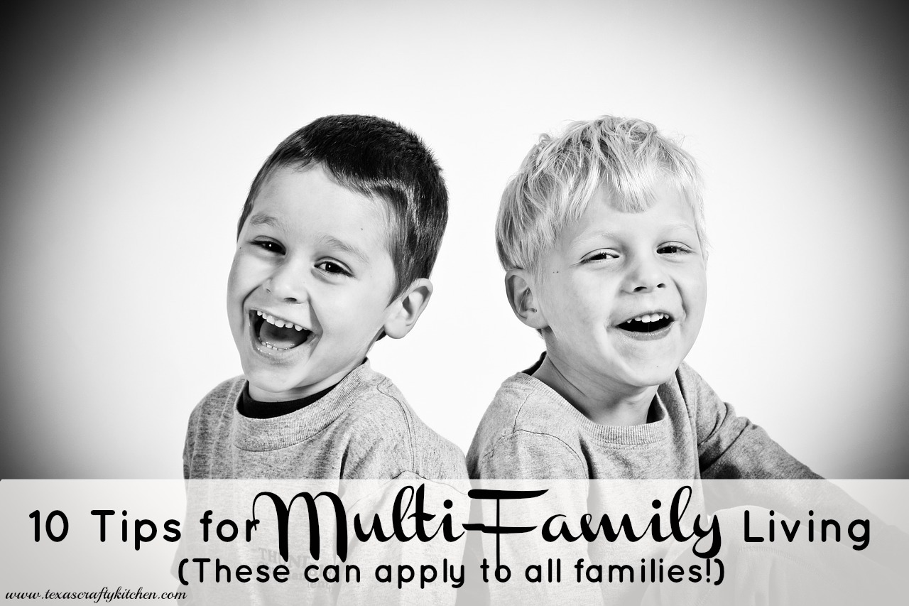10 Tips For Multi Family Living