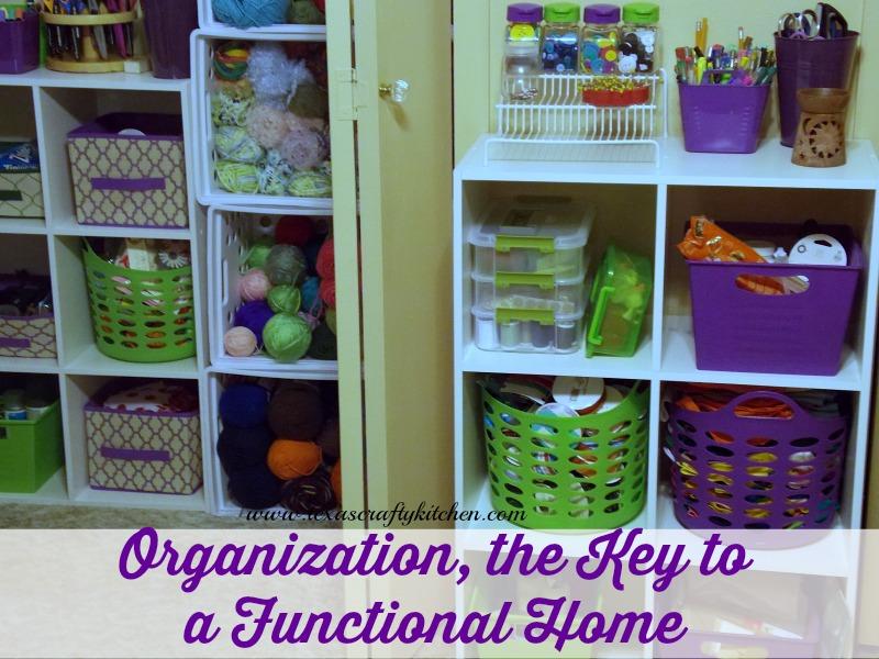 Office Craft Room Organization