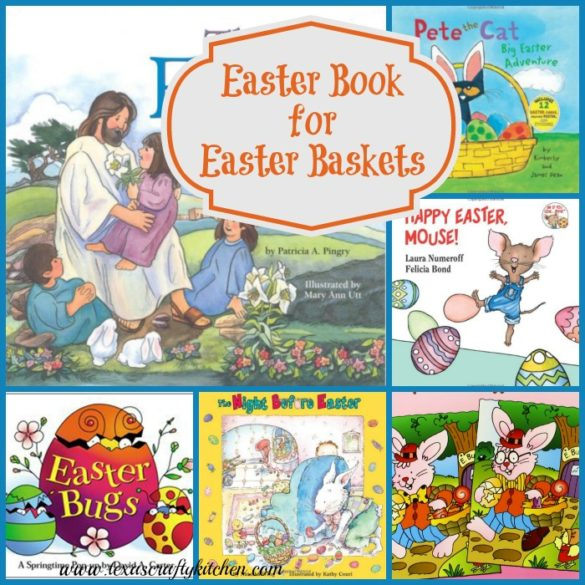 Easter Books for Easter Baskets