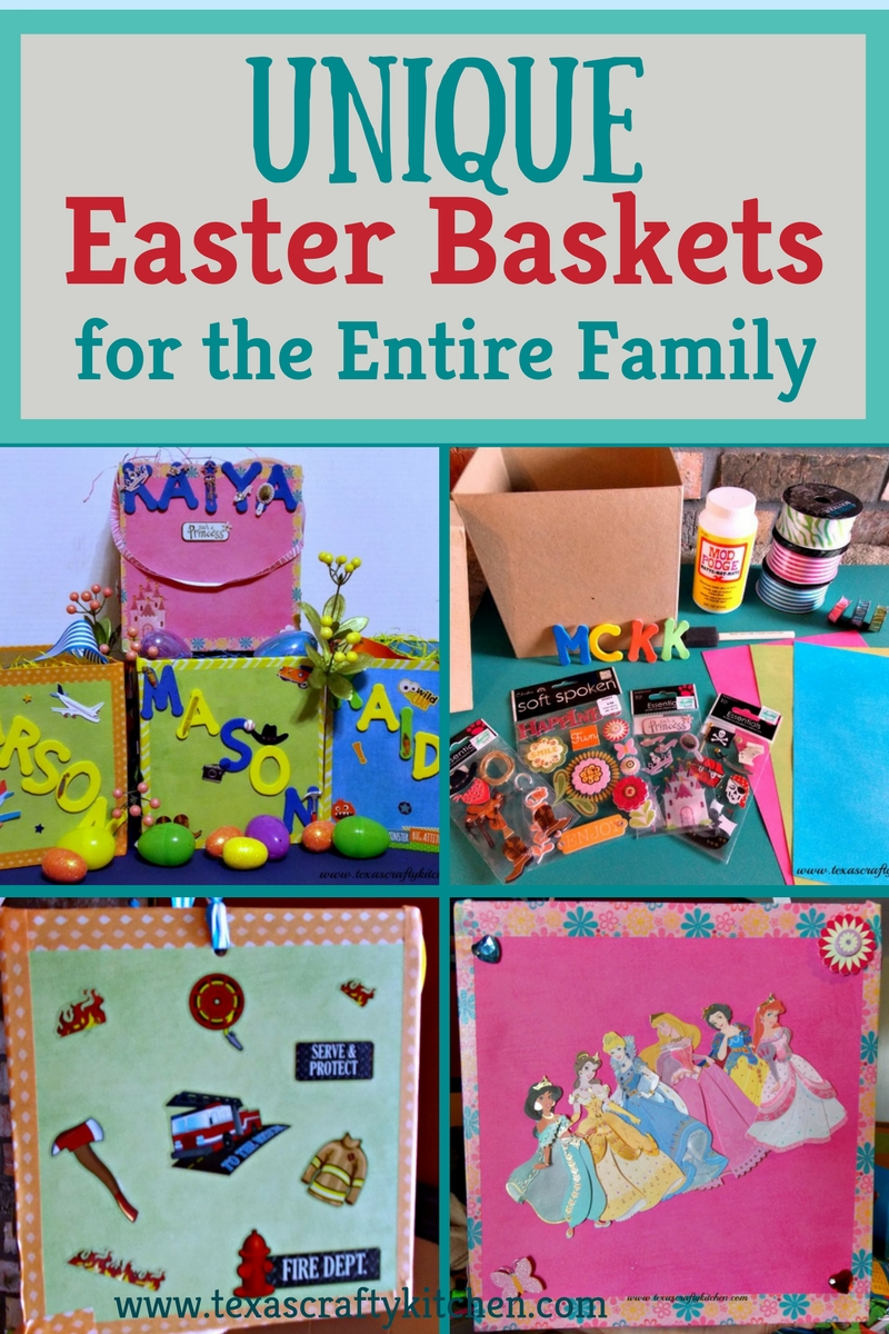 Unique easter basket for the entire family texas crafty kitchen unique easter baskets for the entire family negle Choice Image