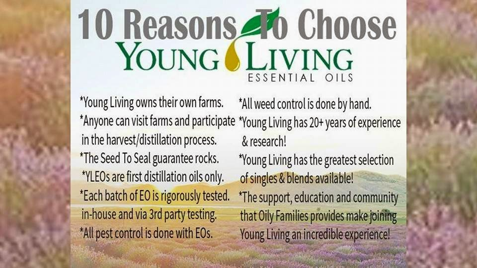 Young Living 10 reasons
