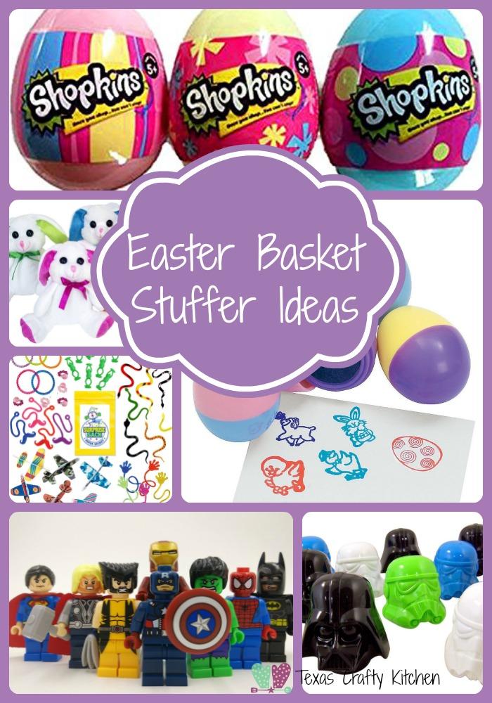 Easter basket stuffer ideas texas crafty kitchen negle Images