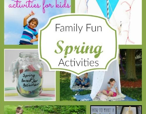 Family Fun Spring Activities