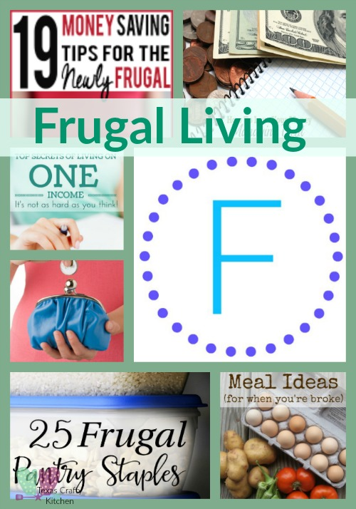 A-Z Frugal Living