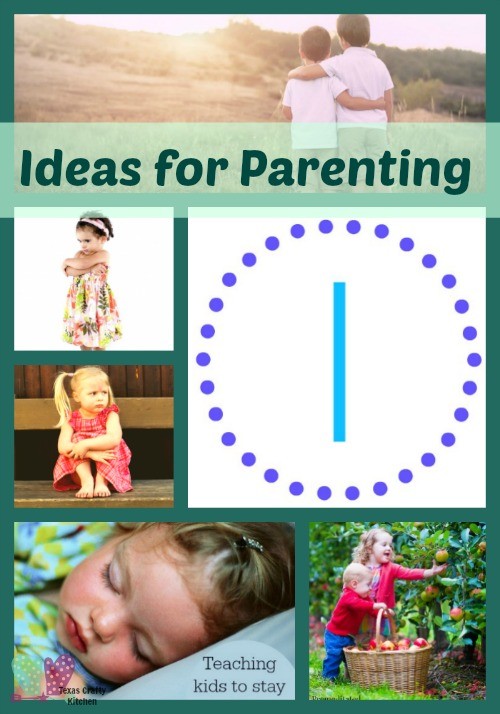 Ideas for Parenting. Parenting is a continual learning experience! We all have different ways of handling situations, but we are always learning how to become better parents!