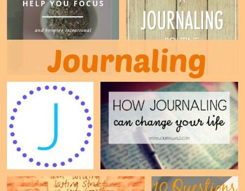 A-Z Journaling