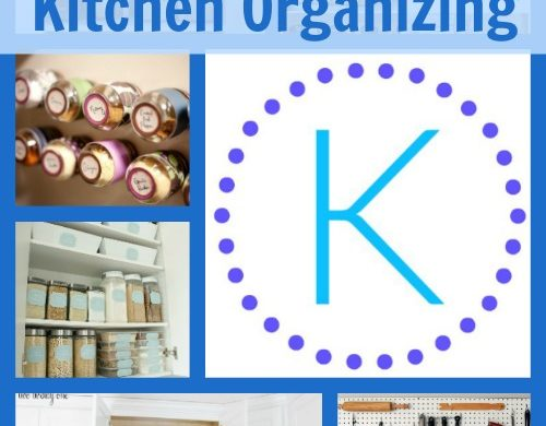 A-Z Kitchen Organizing