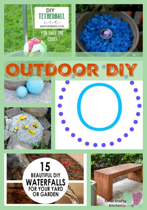 A-Z Roundup Outdoor DIY