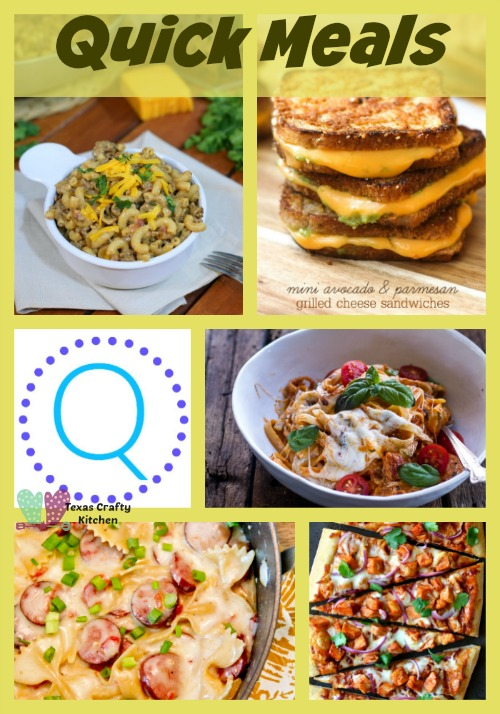 A-Z Roundup Quick Meals